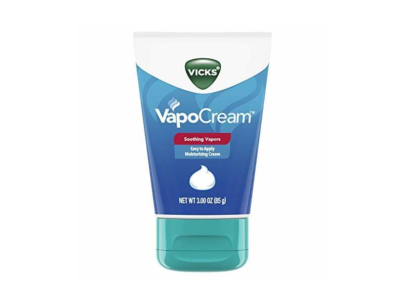 Vicks Vapocream Soothing & Moisturizing Vapor Cream, 3oz