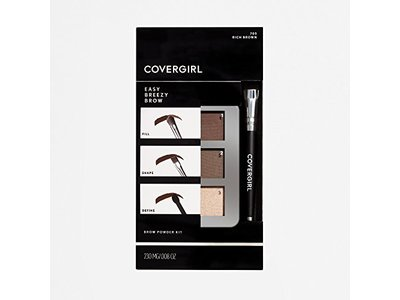 COVERGIRL Easy Breezy Brow Powder Kit, Rich Brown - Image 6