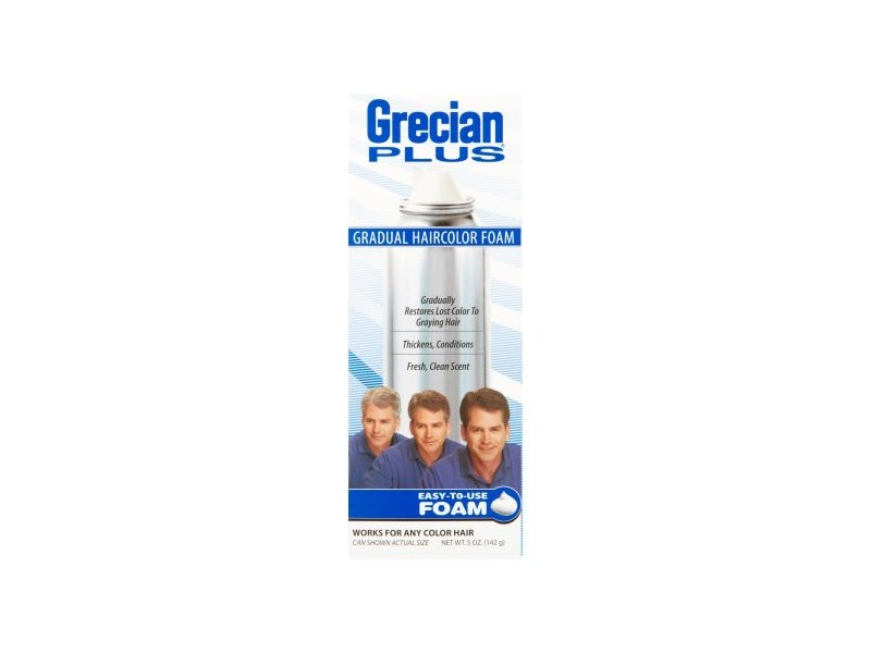 Grecian plus gradual haircolor foam, combe, inc.