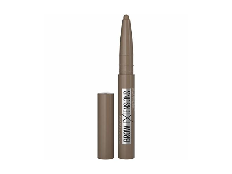 Maybelline Brow Extensions Eyebrow fiber Pomade Crayon, Soft Brown, 0.014 Ounce