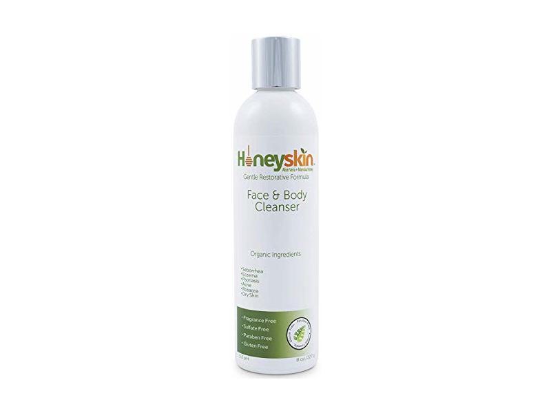 HoneySkin Face and Body Cleanser, 8 fl oz (227 g)