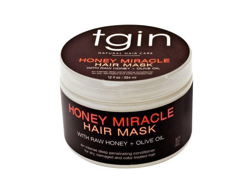 tgin Deep Honey Miracle Hair Mask, 12 fl oz/354 mL