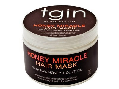 tgin Deep Honey Miracle Hair Mask, 12 fl oz/354 mL