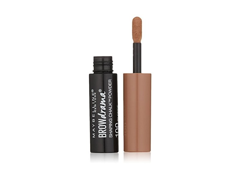 Maybelline Brow Drama Shaping Chalk Powder, Blonde, 0.035 fl. oz.