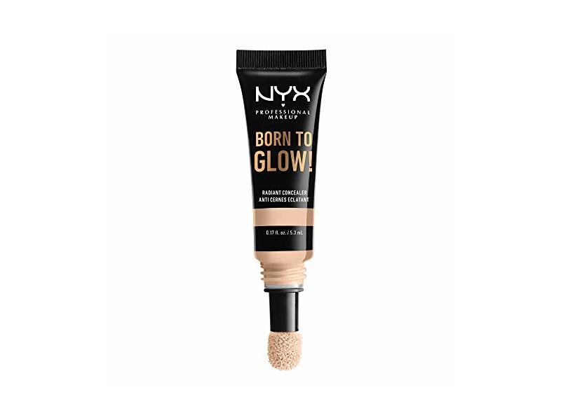 NYX Profesional Makeup Born To Glow Radiant Concealer, Light Ivory