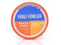 Frau Fowler Mouth Medic Tooth & Gum Powder, Cinnamon Clove Tea Tree, 2.03 oz - Image 2