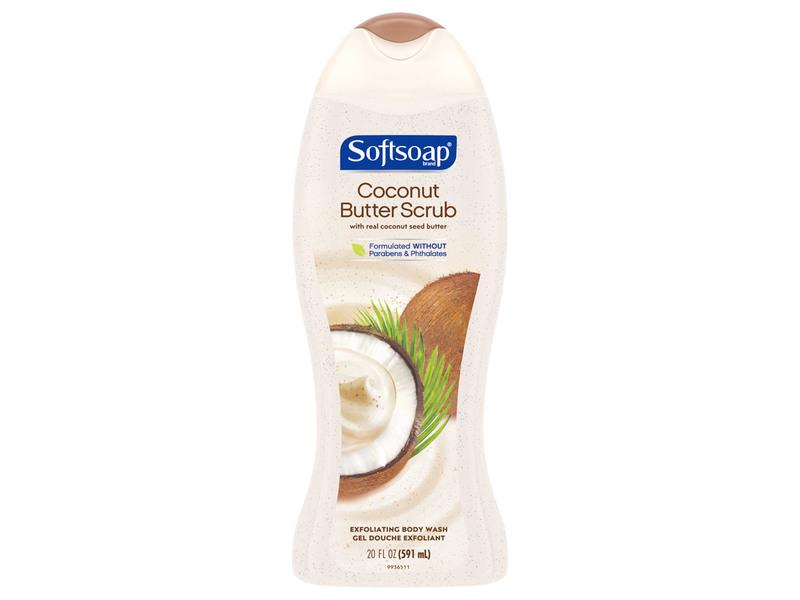 Softsoap Bodywash Coconut Scrub