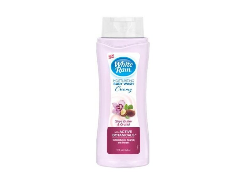 White Rain Active Botanicals Creamy Shea Butter & Orchid Moisturizing Body Wash, 12 fl oz