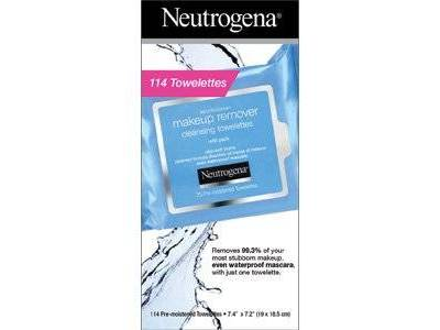 Neutrogena Makeup Remover Cleansing Towelettes, 114 count, with a bonus Hydro Boost Water Gel