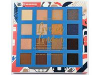 BH Cosmetics 16 Color Eyeshadow Palette, Love in London, 0.56 oz - Image 2