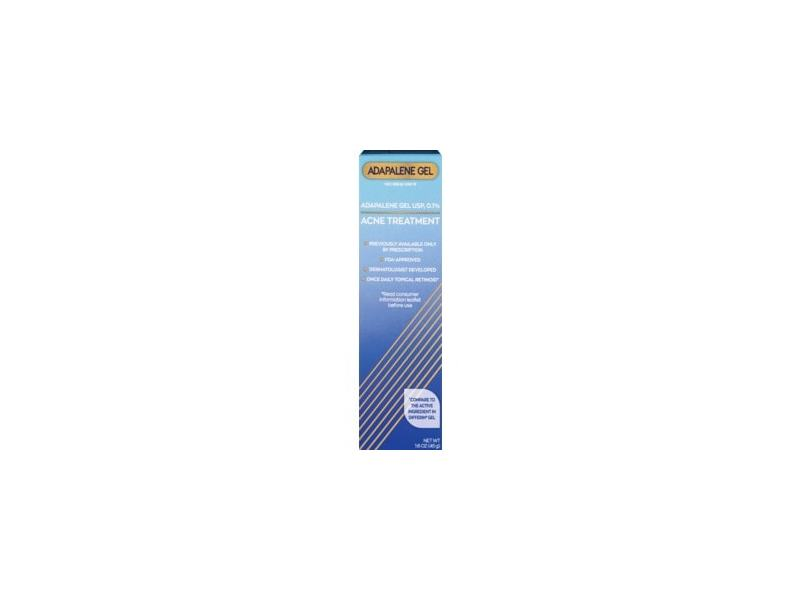 Cvs Health Adapalene Gel Usp 0 1 Acne Treatment 1 6 Oz Ingredients And Reviews