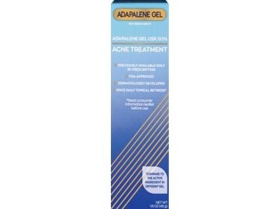 Cvs Health Adapalene Gel Usp 0 1 Acne Treatment 1 6 Oz