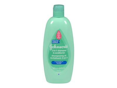 Johnson's 2-in-1 Shampoo & Conditioner, 532 mL
