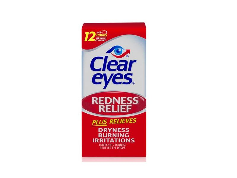 Clear Eyes Redness Relief Eye Drops, 0.5 fl oz