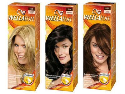 Wella Wellaton Permanent Hair Color, Activating Cream, & Conditioner - All Colors, Procter & Gamble - Image 1