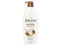 Jergens Hydrating Coconut 24-Hour Moisturizer, Oil-Infused, Visibly Soft Skin, 16.8 fl oz/496 mL - Image 2