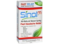 Sinol Headache Relief Spray, Migraine Cluster Tension (15 ml) - Image 2