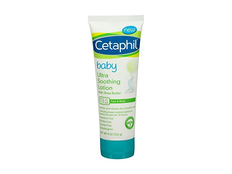 Cetaphil Baby Ultra Soothing Lotion with Shea Butter, 8 oz