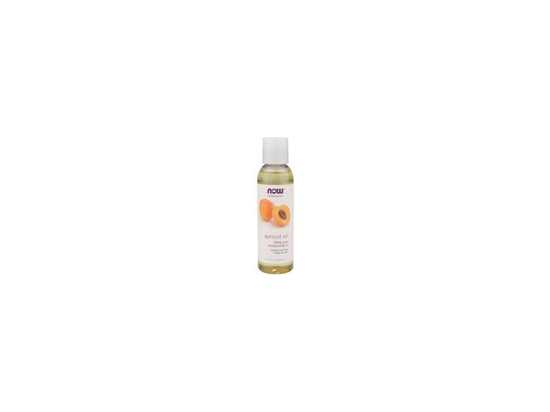 Now Solutions Apricot Oil, 4 fl oz