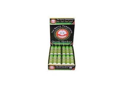The Merry Hempsters Organic Hemp Lip Balm, Lemon-Lime, 0.14 oz