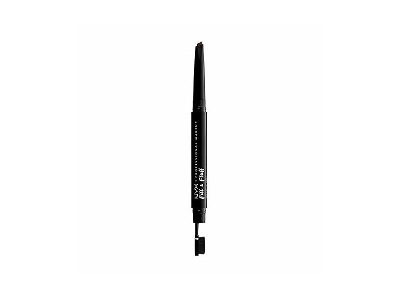 Nyx Professional Makeup Fill & Fluff Eyebrow Pomade Pencil, Ash Brown, 0.007 oz/0.2 g