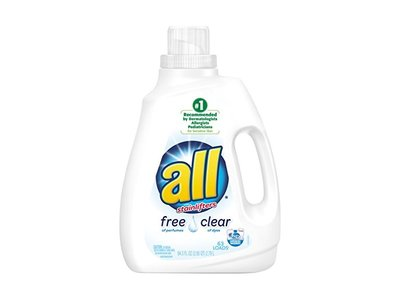All Free Clear Liquid Laundry Detergent with Stainlifters, 94.5 fl oz