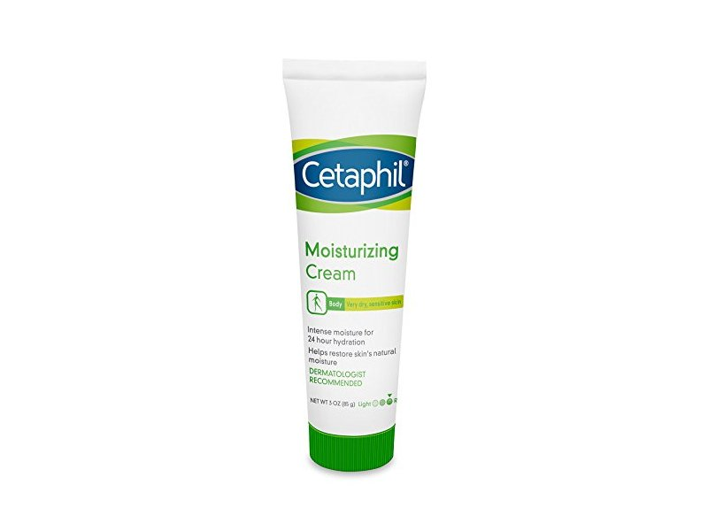 Cetaphil Moisturizing Cream for Very Dry/Sensitive Skin, Fragrance Free, 3 Ounce (Pack of 3)