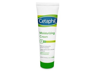 Cetaphil Moisturizing Cream for Very Dry/Sensitive Skin, Fragrance Free, 3 Ounce (Pack of 3) - Image 1