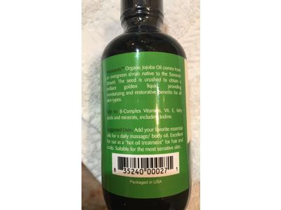 Inesscents Aromatic Botanicals Golden Jojoba Oil, 4 fl oz - Image 5