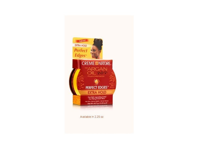 Creme of Nature Argan Oil Perfect Edges Extra Hold, 2.25 oz