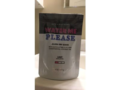 Bath and Body Works Water Me Please Jojoba Dry Scrub, 4 ounces - Image 3