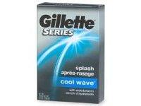 Gillette After Shave Splash, Cool Wave, 3.5 fl oz - Image 2