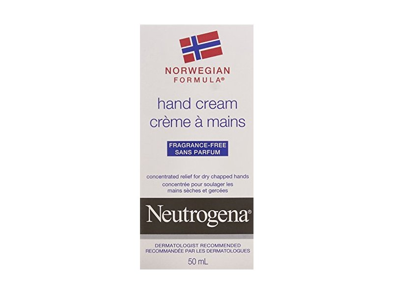 Neutrogena Norwegian Formula Hand Cream, Fragrance-Free, 50 mL