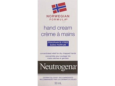 Neutrogena Norwegian Formula Hand Cream, Fragrance-Free, 50 mL - Image 1