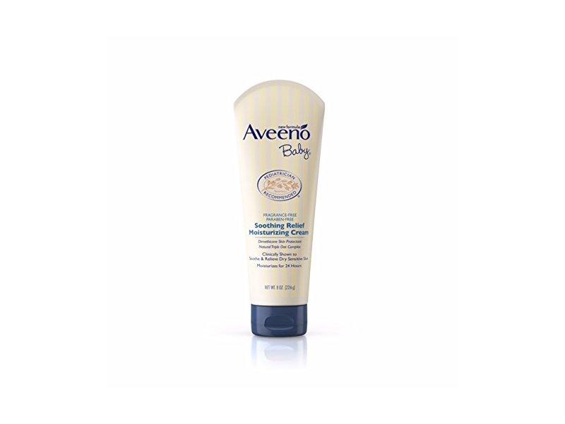 Aveeno Baby Soothing Relief Moisturizing Cream, 8 oz