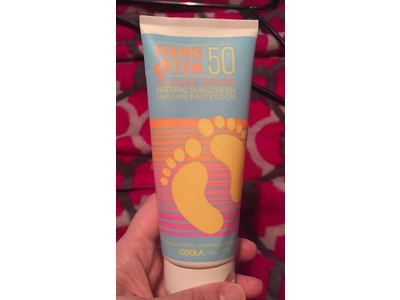 Hang Ten Classic Sport Natural Sunscreen, SPF 50, 7.9 Ounce