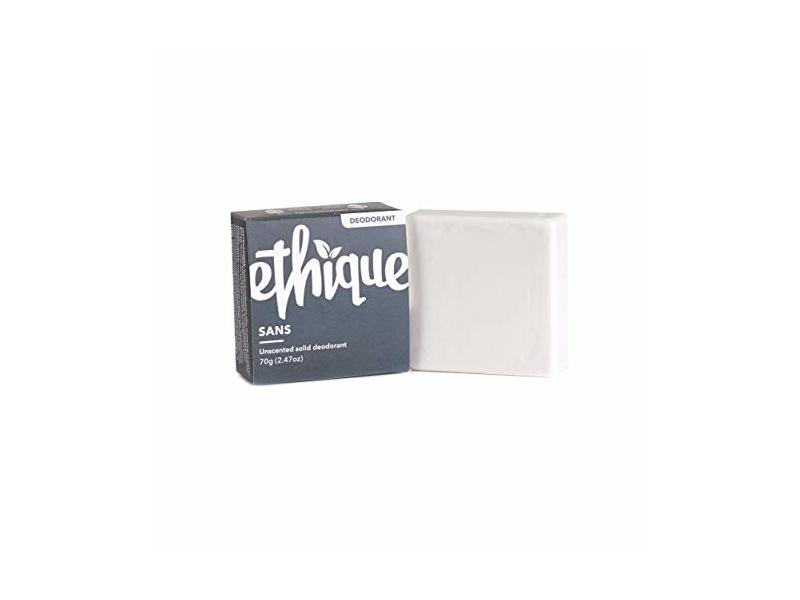 Ethique Eco-Friendly Unscented Deodorant Bar, 2.47oz
