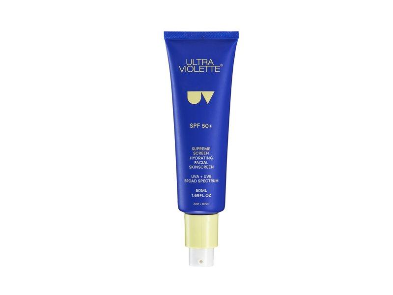 Ultra Violette Supreme Sunscreen Hydrating Facial Sunscreen, SPF 50+ , 1.69 fl oz