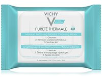 Vichy Pureté Thermale Micellar Makeup Remover Wipes, 25 Count - Image 2