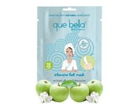 Que Bella Intensive Foot Mask Enriched With Apple & Shea Butter, 1 ct - Image 2