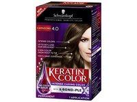 Schwarzkopf Keratin Color Anti-Age Hair Color Cream, 4.0 Cappuccino - Image 2