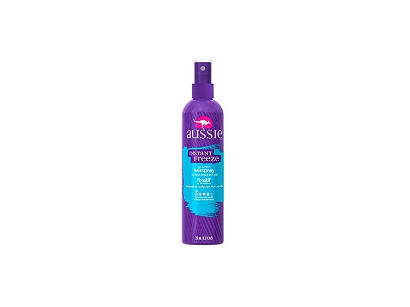 Aussie Instant Freeze Hair Spray Non-Aerosol Maximum Hold, 8.5 oz