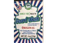 Maple Hill Naturals Honest for Men Beard Wash, Original Scent, 4 oz / 113 g - Image 4