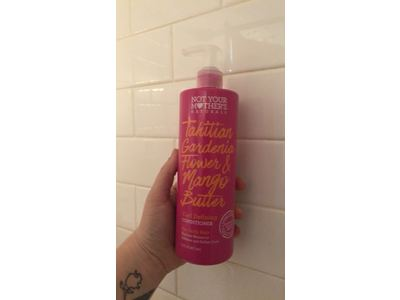 Not Your Mother's Naturals Tahitian Gardenia Flower & Mango Butter Curl Defining Conditioner, 16 fl oz - Image 3