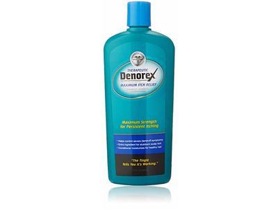 Denorex Therapeutic Maximum Itch Relief Dandruff Shampoo plus Conditioner, 10 oz