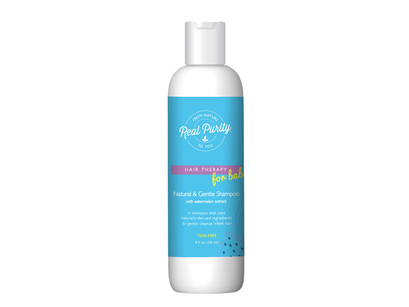 Real Purity Natural & Gentle Baby Shampoo, 8 fl oz