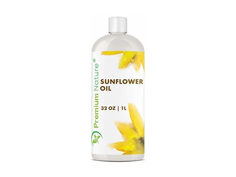 Premium Nature Sunflower Oil Cold Pressed, 32 oz