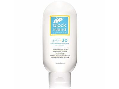 Block Island Organics Natural Mineral Sunscreen SPF 30, 3.4 fl oz