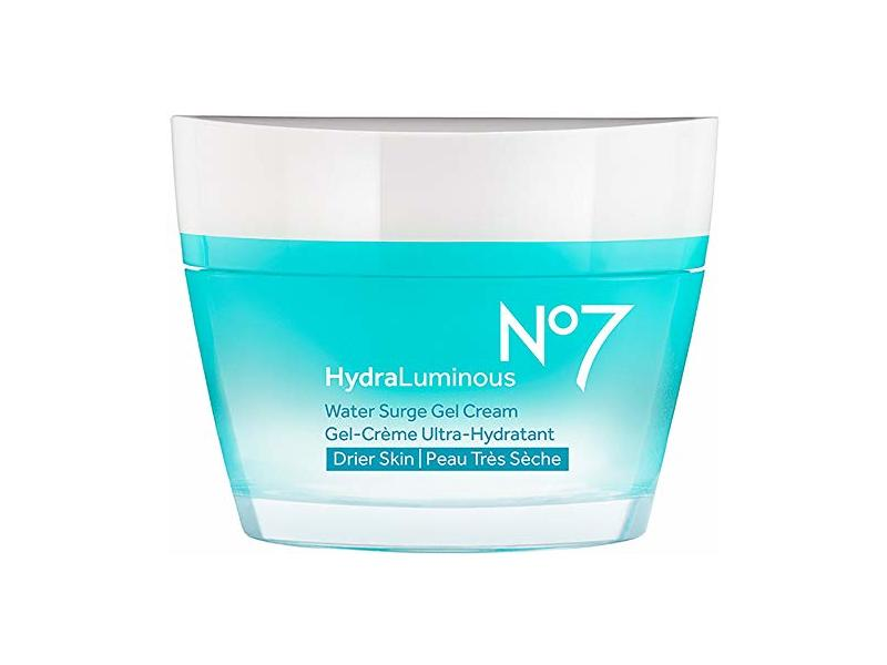 No7 Hydraluminous gel cream for drier skin Pollution Shield Technology