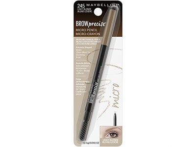 Maybelline Brow Precise Micro Eyebrow Pencil Makeup, Light Blonde, 0.002 oz. - Image 6